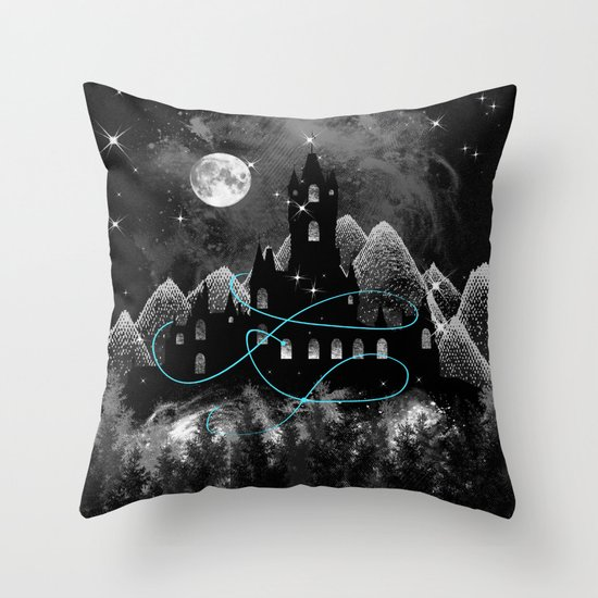 The Hidden Kingdom Throw Pillow