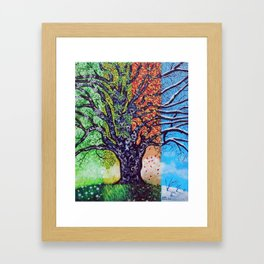 'A Tree For All Season' Framed Art Print