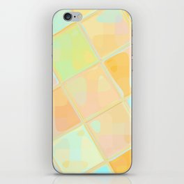 Re-Created Mirrored SQ LXII by Robert S. Lee iPhone Skin