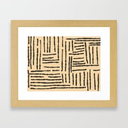 Everything is a construct Framed Art Print