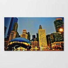 Chicago Bean Canvas Print