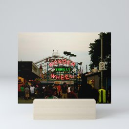 Wonder Wheel at Coney Island Mini Art Print