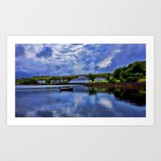 Loch Harport Isle of Skye Art Print