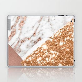Layers of rose gold Laptop & iPad Skin