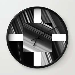 Saturn Rings (all) Wall Clock