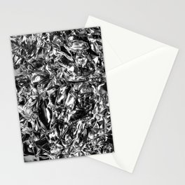 Striking Silver Stationery Cards