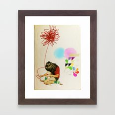 Nail Varnish Framed Art Print