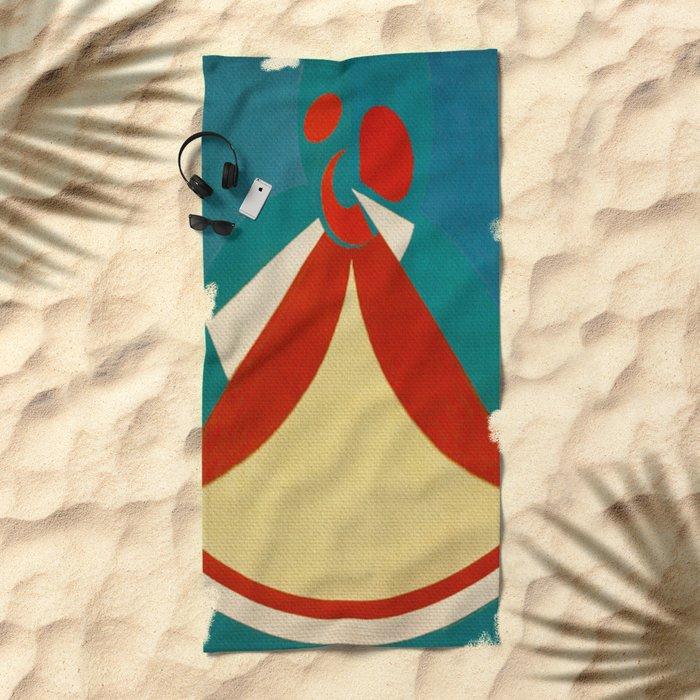 Iansã Beach Towel
