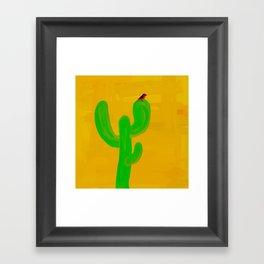 Scarlet Tanager Framed Art Print