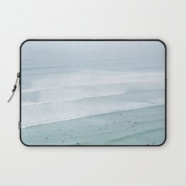 Tiny Surfers from the Sky 3, Lima, Peru Laptop Sleeve