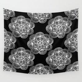 Tangled Mandala Pattern Wall Tapestry