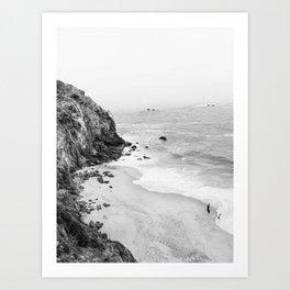 CALIFORNIA COAST III / Malibu Art Print