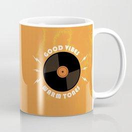 Good Vibes and Warm Tones Coffee Mug