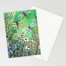 Dragonfly Summer Stationery Cards
