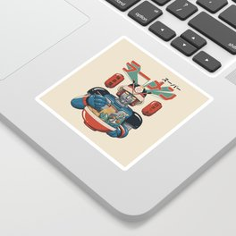 Super Ramen Bot Sticker
