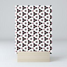 Abstract Floral Mini Art Print