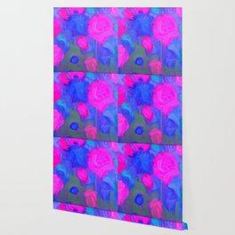 Pink Garden Wallpaper