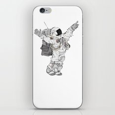 Astronaut Welcoming Visitors iPhone Skin