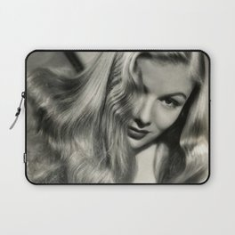 Veronica Lake black and white photography / black and white photographs Laptop Sleeve