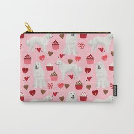 Great Pyrenees dog breed valentines day gifts for dog lover unique dog breeds valentine Carry-All Pouch