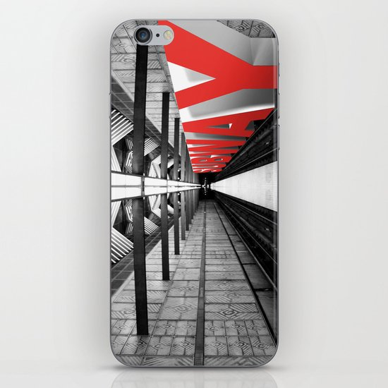 LA subway iPhone & iPod Skin