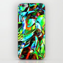 Fluid Painting 3 iPhone Skin