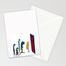 Four little mouses  Stationery Cards