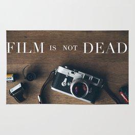 Film Is Not Dead Rug