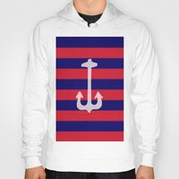 anchor Hoodies featuring anchor by gzm_guvenc