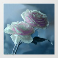 romance Canvas Prints featuring Romance  by Lena Photo Art