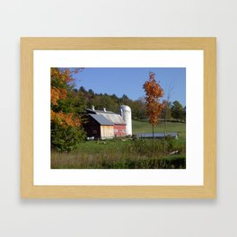 Fresh Fall Laundry Framed Art Print