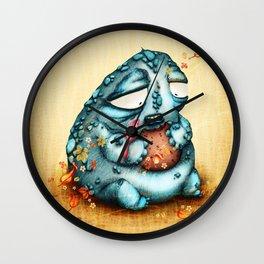 El Gordo y la Golondrina Wall Clock