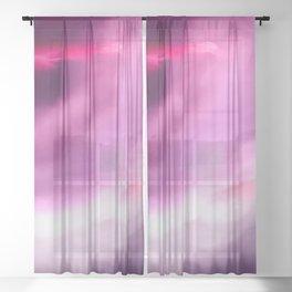 Break Through Sheer Curtain