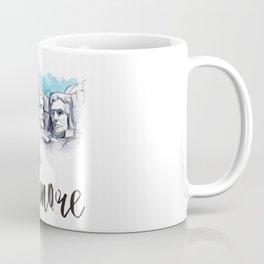 Mount Rushmore watercolor Coffee Mug