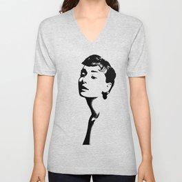Hepburn Unisex V-Neck