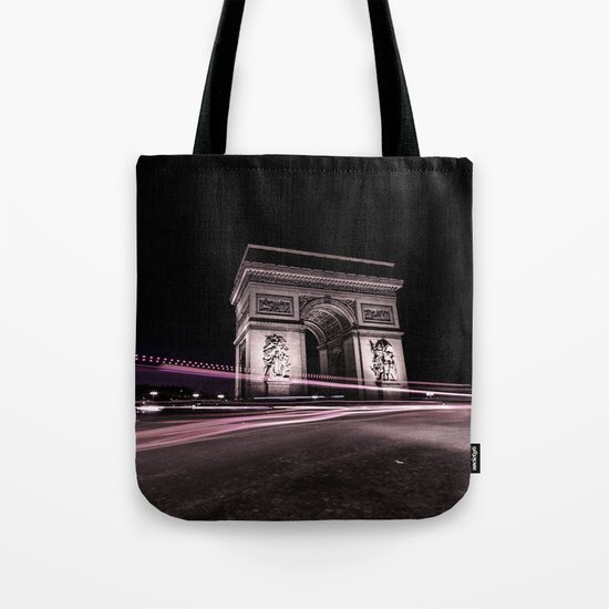 Arc de triomphe Paris France Tote Bag