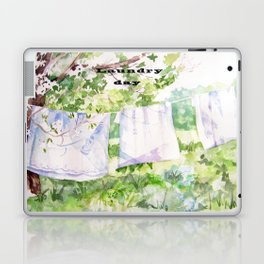 Laundry Day Laptop & iPad Skin