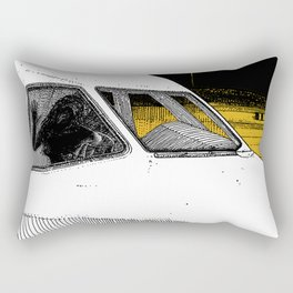 asc 698 - Le tarmac la nuit (Your flight was delayed due to technical problems) Rectangular Pillow