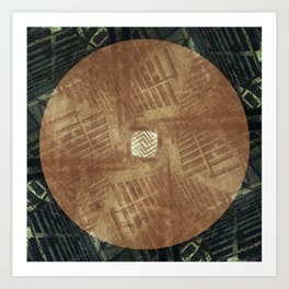 Arithmetik II Art Print