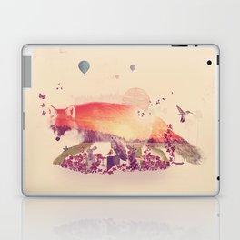 Woodlands Fox Laptop & iPad Skin