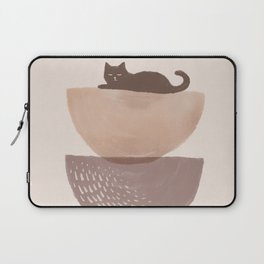 Hidden cat 7 abstract Pot balance  Laptop Sleeve