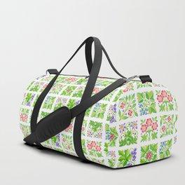 Tudor Flowers Duffle Bag