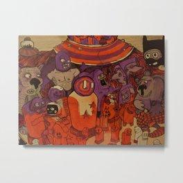 Purple Haze Metal Print