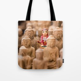 ONE OF THESE THINGS DOESN'T BELONG HERE... Tote Bag