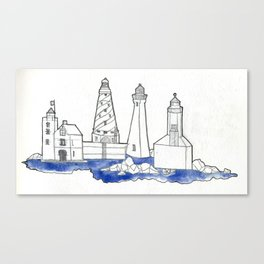 The Lighthouse State Canvas Print