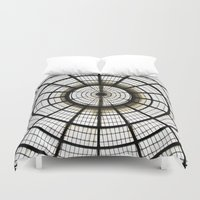 milan Duvet Covers featuring Milan by Alev Takil