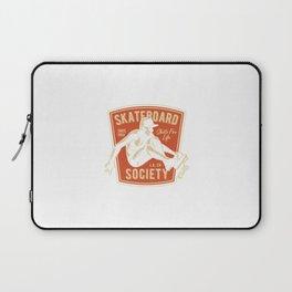 Skateboard Society Laptop Sleeve