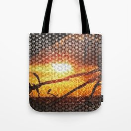 Sunset Geometry | Ferntree Gully Tote Bag