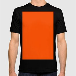 International orange (aerospace) T-shirt