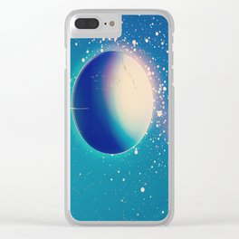 1950 vintage, Space above and beyond Clear iPhone Case